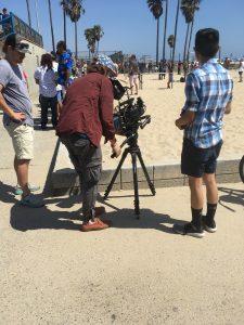 filming-venice-beach-california